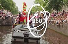 荷兰阿姆斯特丹同性恋游行营销活动 360游船