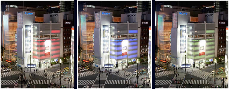 Color Tokyo! -Live Color Wall Project