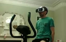 英国游戏玩家利用VR技术开发一款在家骑行健身软件