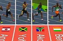 荷兰博物馆奥运会营销创意网站 百米比赛