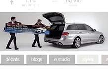 奔驰EClass Estate车型Banner创意 大空间