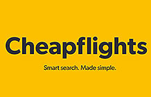 英国机票比价网站cheapflights技术Banner广告 拖拽搜索