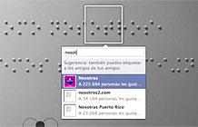 秘鲁盲人协会Facebook图片标记应用 盲人阅读