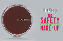 CoverGirl彩妆品牌公益营销 智能粉饼提醒女司机安全驾车
