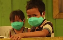 印尼阴霾创意公益活动 鬼叫声