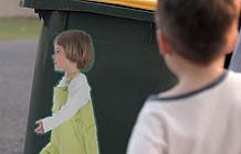 澳大利亚道路安全组织创意广告 儿童提醒贴纸