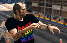 斯德哥尔摩同性恋游行另类营销 侠盗飞车5虚拟游行
