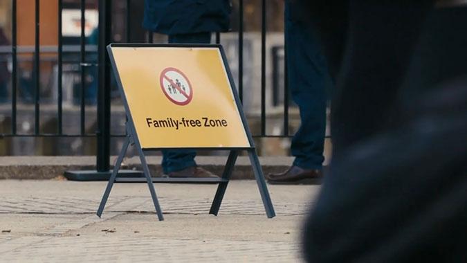 英国大赦国际公益活动 家庭自由区