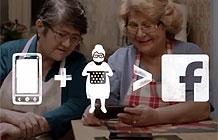 沃达丰电信营销活动 孤寡老人煮饭