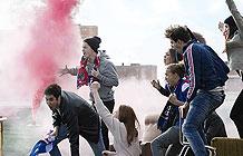 法国Orange电信2016欧洲杯营销活动 点亮埃菲尔铁塔