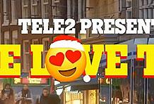 瑞典电信公司Tele 2有爱营销 拥抱免车费