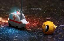 摩托罗拉这个系列Emoji广告非常可爱