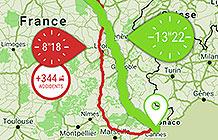 法国安盟保险公司营销活动 安全路线