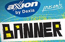 比利时AXION银行创意活动 在Banner上开演唱会