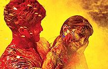 印度保险公司色彩节公益活动