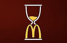 沙特麦当劳斋月创意户外 沙漏广告
