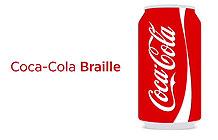 可口可乐姓名瓶身墨西哥营销活动 盲文瓶身