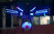 百事动用3000LED灯只为办一场酷炫足球赛