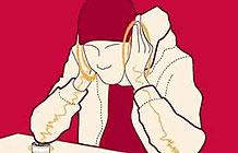 KFC开发了一张骨传导音乐桌,帮助街头艺人