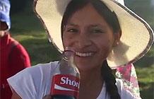 可口可乐秘鲁营销活动 即刻打印姓名瓶