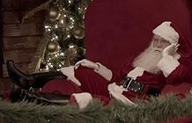 巴西士力架复活节创意线下活动  圣诞老人误入