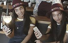 Twix营销活动 咖啡馆全是双胞胎 顾客都整懵逼了