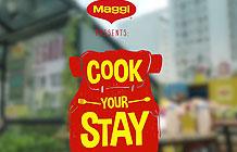 巴西Maggi鸡精营销活动 做饭免房租