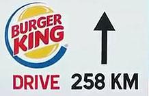麦当劳做了一个户外广告 讽刺汉堡王门店少