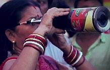 印度食用油品牌营销活动 空瓶变望远镜