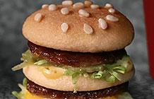 麦当劳愚人节恶搞广告 微型汉堡