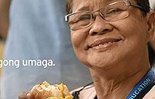 菲律宾麦当劳国家早餐日宣传活动 早上好老师