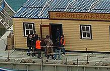 新西兰啤酒品牌Speights创意活动 开船送酒