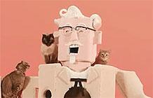 一百万人观看了肯德基如何撸猫