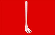 日清泡面为明年奥运会设计了一款特别的叉子