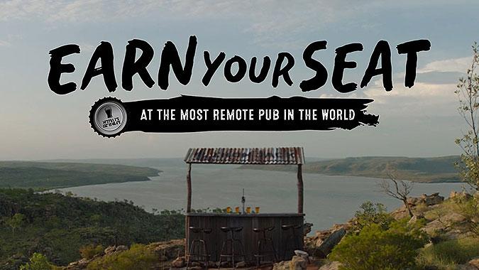 澳大利亚啤酒品牌Iron Jack宣传活动 赢得坐席