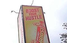 Lucozade 饮料肯尼亚创意活动 多功能广告牌