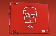 加拿大亨氏番茄酱疫情活动 红色拼图