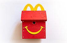 芬兰麦当劳公益活动 快乐乐园餐鸟巢箱