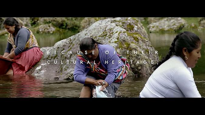 秘魯礦泉水品牌Andea技術營銷清潔河流的肥皂
