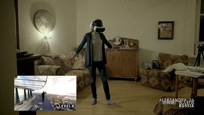 三星系列营销活动 VR帮助你战胜恐惧
