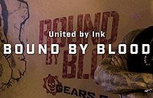 XBOX游戏Gears5纽约户外宣传活动 纹墙