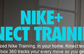Nike+微软Kinect打造家庭健身教练