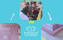 联合利华冲浪洗涤品牌创意环保回收水装置