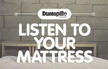 寝具品牌dunlopillo另类营销 智能床垫提醒夫妻应该爱爱咯