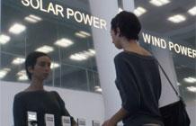 NRG能源公司广告 插头的背后