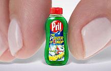 德国洗碗精品牌Pril创意营销 只要一滴