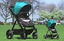 美国Contours婴儿车创意营销活动 婴儿车试驾