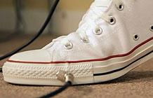 匡威技术营销 鞋子变身音踏板