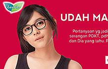 印度尼西亚乐而雅卫生巾营销活动 女孩字典