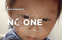 越南奥妙洗衣粉创意活动 屏幕上的孩子